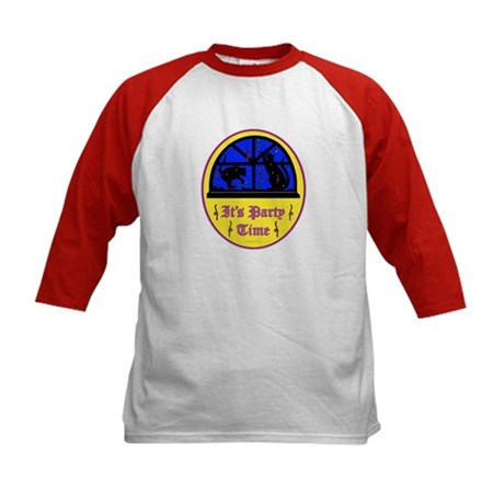 Birthday Party Kids Baseball Jersey