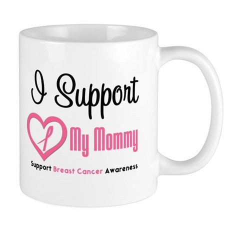 Breast Cancer Mommy Mug