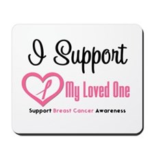 Breast Cancer Support Mousepad