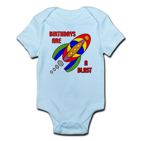 Rocket Birthday Infant Bodysuit