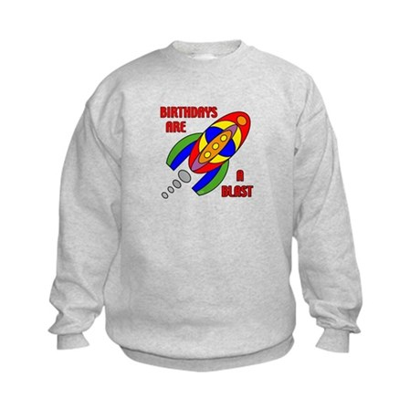 Rocket Birthday Kids Sweatshirt