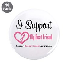 "BreastCancerSupport (BFF) 3.5"" Button (10 pack)"