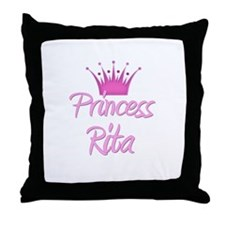 Princess Rita Throw Pillow