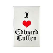 I Heart Edward Cullen Rectangle Magnet