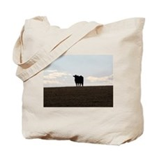 Black Cow Tote Bag