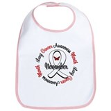 Awareness Month Lung Cancer Bib