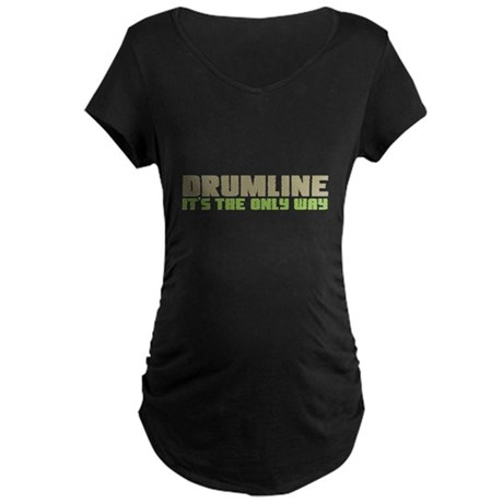 Drumline Maternity Dark T-Shirt