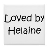 Cute Helaine Tile Coaster