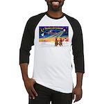 XmasSunrise/2 Airedales Baseball Jersey