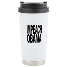 Impeach Obama Ceramic Travel Mug