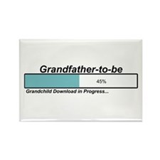 Download Grandfather to Be Rectangle Magnet