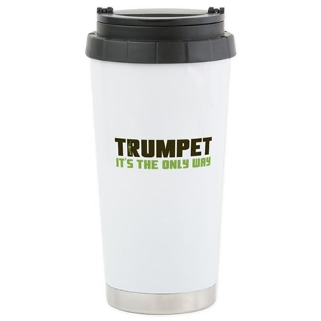 Trumpet Ceramic Travel Mug