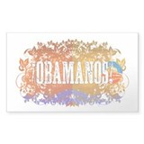 Obamanos Flowering Rectangle Decal
