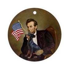 Lincoln & His Manchester Keepsake (Round)
