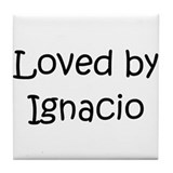 Cute Ignacio Tile Coaster
