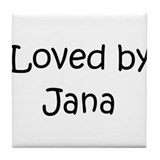 Cool Jana Tile Coaster