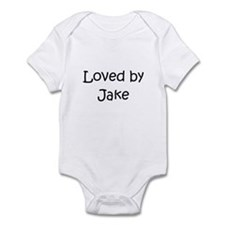 Unique Loved by a Infant Bodysuit
