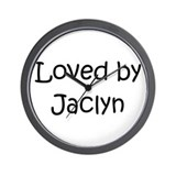 Cute Jaclyn Wall Clock