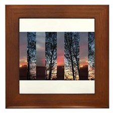 Daybreak Framed Tile