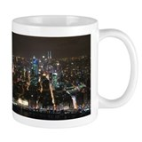 Shanghai Night Skyline Small Mug