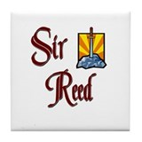 Sir Reed Tile Coaster