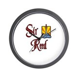Sir Reed Wall Clock