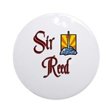 Sir Reed Ornament (Round)