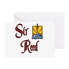 Sir Reed Greeting Card