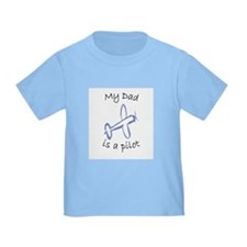 Kids Dad Airplane T-shirts T