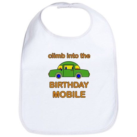 Birthday Car Bib