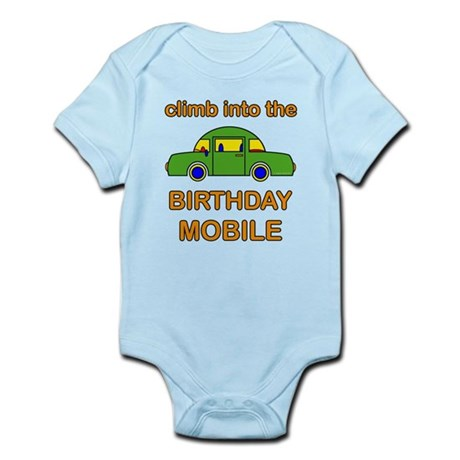 Birthday Car Infant Bodysuit
