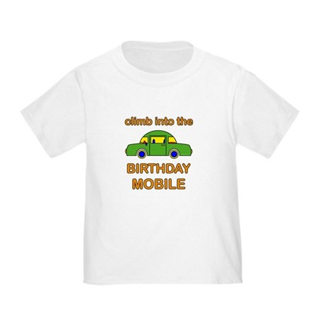 Birthday Car Toddler T-Shirt