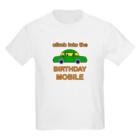 Birthday Car Kids Light T-Shirt