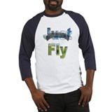 Just Fly Powered Parachute Baseball Jersey