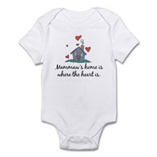 Mammaw's Home is Where the Heart Is Onesie