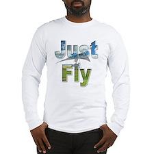 Just Fly Hang Gliding Long Sleeve T-Shirt