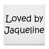 Unique Jaqueline Tile Coaster