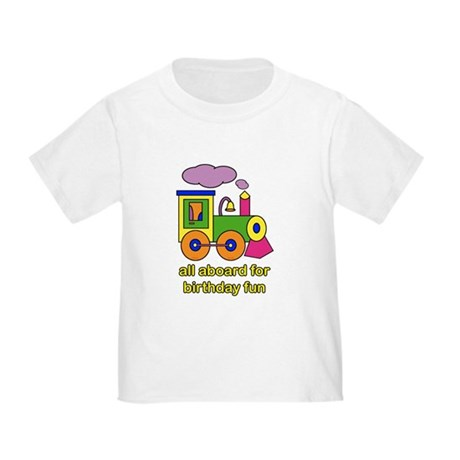 Train Birthday Toddler T-Shirt