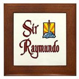 Sir Raymundo Framed Tile