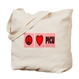 PICU Nurse Tote Bag