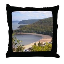 Pearl Beach, Central Coast Throw Pillow