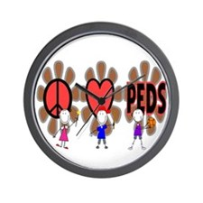 Peds Nurse III Wall Clock
