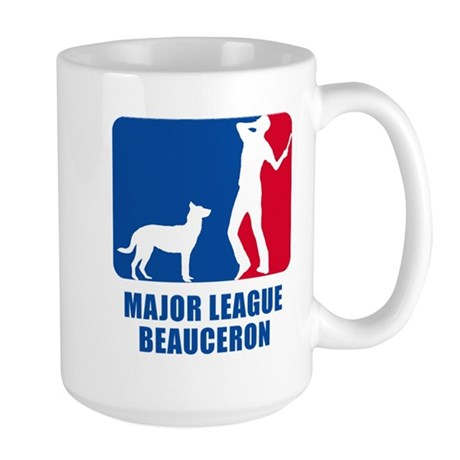 Beauceron Large Mug
