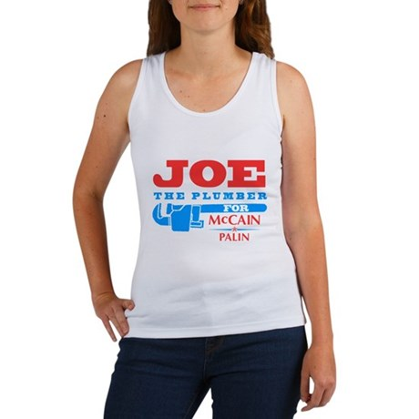 Joe the Plumber for McCain Womens Tank Top