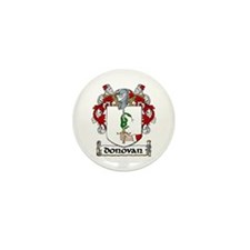 Donovan Coat of Arms Mini Button (10 pack)