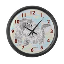 Coten De Tulear Large Wall Clock