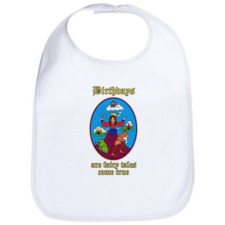 Fairy Tale Birthday Bib