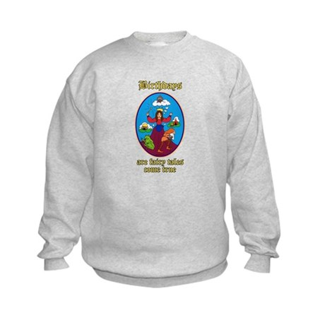 Fairy Tale Birthday Kids Sweatshirt