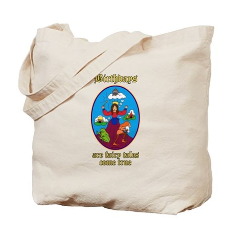Fairy Tale Birthday Tote Bag