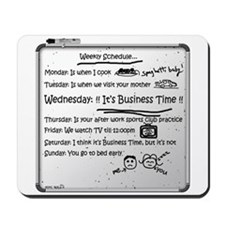 It's Business Time!!! Mousepad